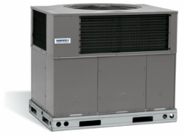 photo of tempstar packaged heatpump or gas heat and air conditioning