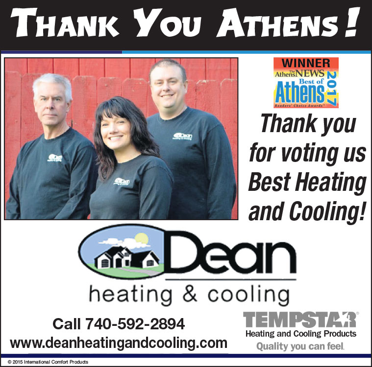 image of thank you athens ad from the athens news